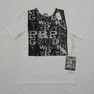 PRPS Goods Men's White T-shirt Slim Fit Size S L